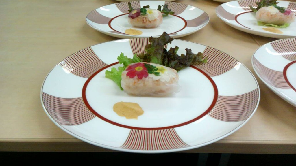 サーモン春菜ロール
